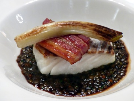 cod and puy lentil at Berners Tavern   ytTastes   Yvanne Teo