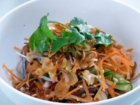 spicy beef salad at The Magazine Restaurant | ytTastes | Yvanne Teo