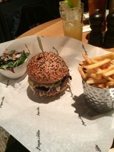 Burger at Burger & Lobster Fitzrovia   ytTastes   Yvanne Teo