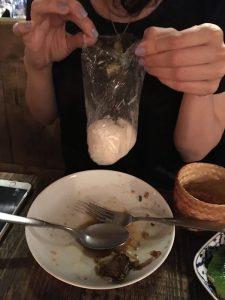 Som Saa | sticky rice | Yvanne Teo