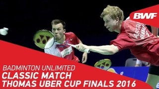 Badminton Unlimited | Thomas Cup Classic Match | BWF 2020
