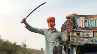 Punjabis in traffic… | 2 Foreigners In Bollywood