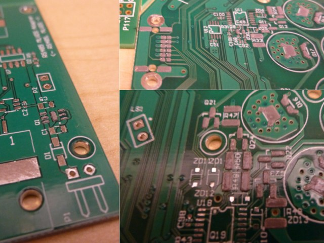 Solder paste stays well on the pads