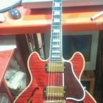Gibson CS−356 北海道札幌市でギター盗難です。