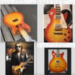 Tak Matsumotoさん的ギターのチェリーサンバースト