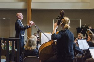 The InConcert Sierra Orchestra will perform a program of orchestral favorites Sept. 18 in Grass Valley, under the direction of Conductor Ken Hardin. Photo by Fred Hall