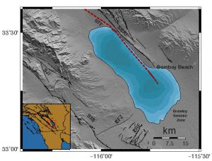 Map of Salton Trough Fault. Credit: Scripps Institution of Oceanography/Valerie Sahakian