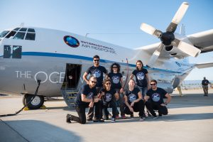 The Ocean Cleanup Aerial Expedition crew. Credit: Erwin Zwart/The Ocean Cleanup