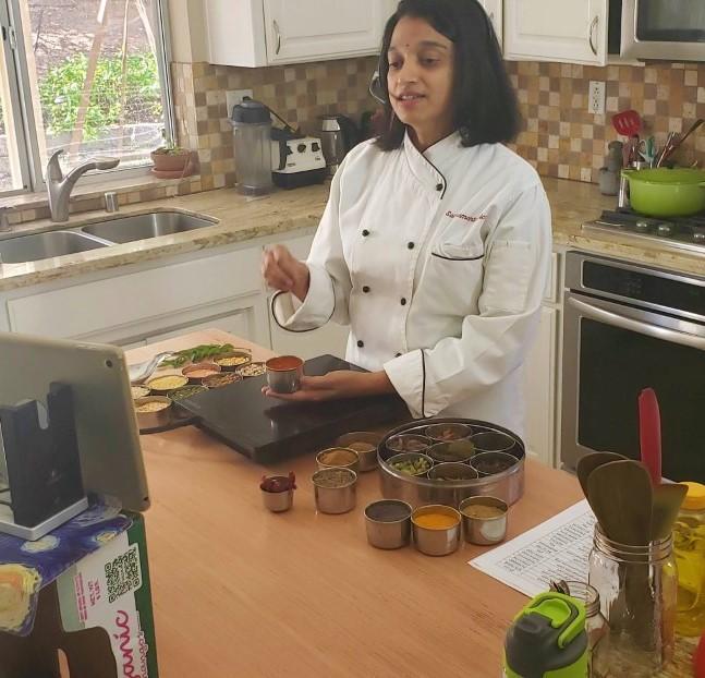 Chef Shankari Arcot