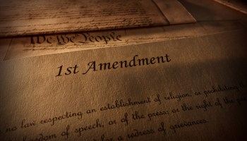 First Amendment of the US Constitution text
