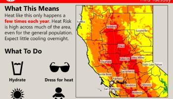 Heat Risk mao