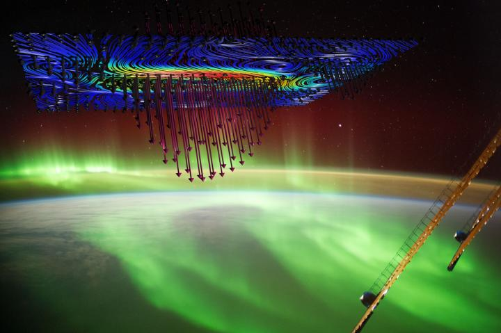 Physicists led by the University of Iowa report definitive evidence that auroras that light up the sky in the high latitudes are caused by electrons accelerated by a powerful electromagnetic force called Alfven waves.