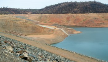 ake Oroville at an elevation of 650.65 feet, 26 percent of total capacity or 35 percent of average capacity for this time or year, on July 26, 2021 in Butte County, California.