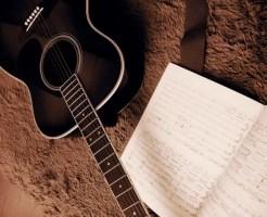 ギターと楽譜