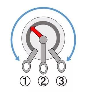 ボリュームポット内部構造