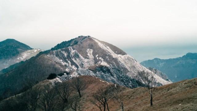 中倉山 登山