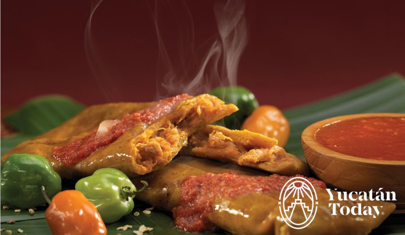 Tamal yucateco cocina yucateca
