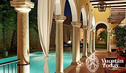 Hotel Hacienda Merida piscina