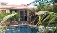 Cascadas de Merida B&B piscina