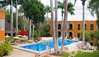 Hacienda Uxmal pool