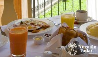 Hacienda Xcanatun desayuno