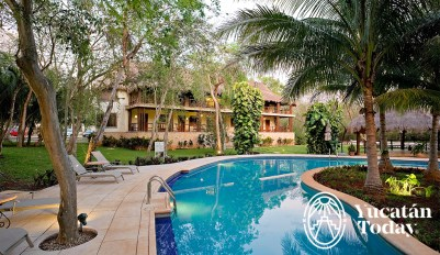 The Lodge Uxmal Pool