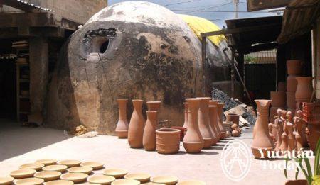 Ticul horno ceramica