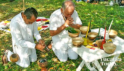 Ceremonia Maya