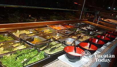 La Arboleda barra de ensaladas
