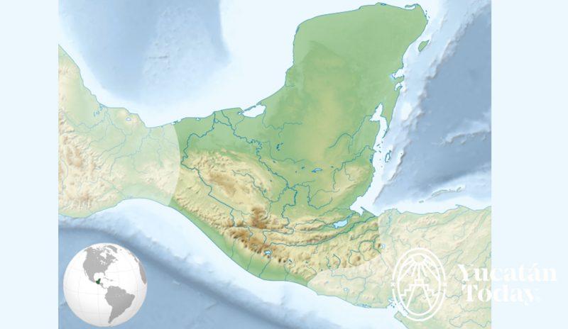 Mapa Mayas