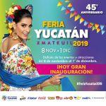 Feria Yucatan Xmatkuil 2019