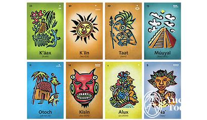Flash Cards Voz Maya
