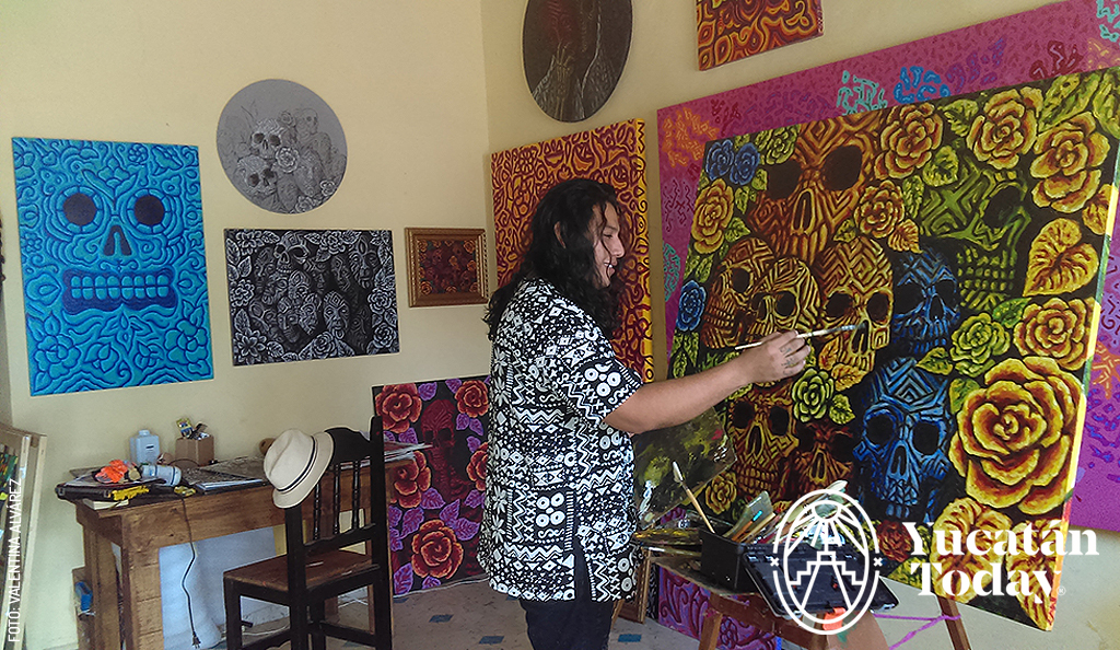 Contemporary Art with Maya Roots
