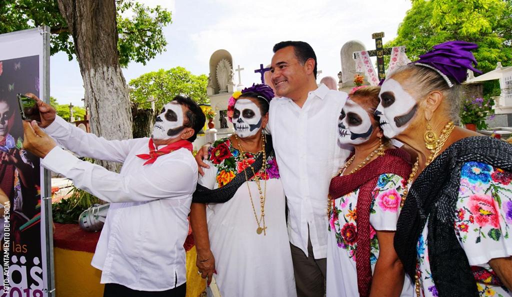 Festival de las Ánimas en Yucatán