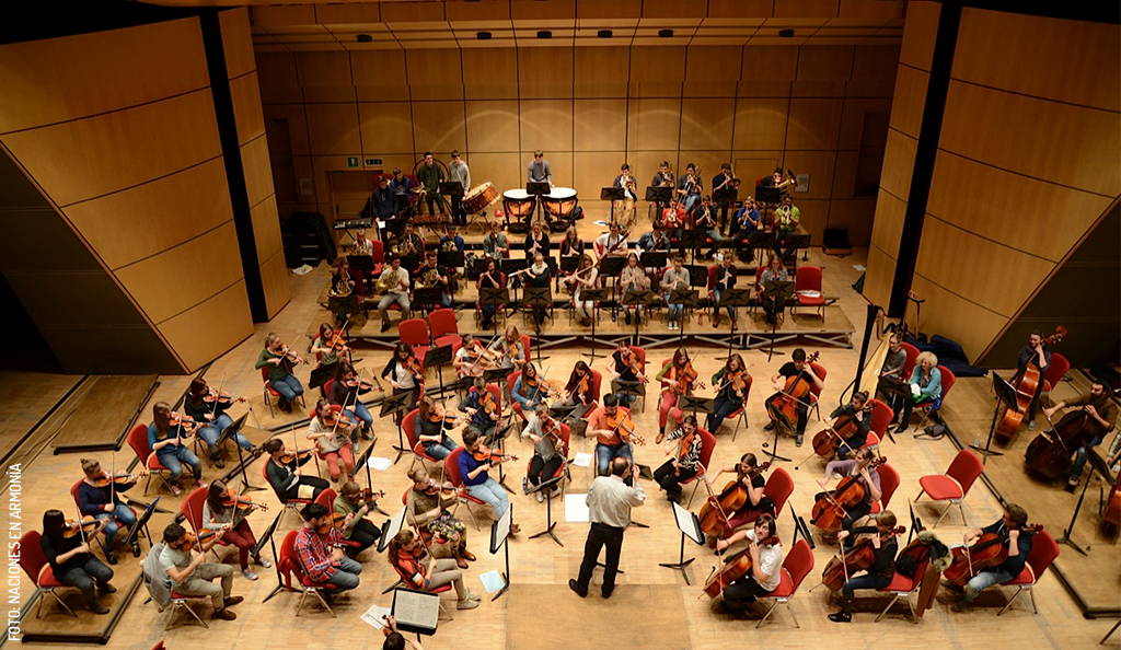 Orquesta Sinfónica Italiana en Mérida