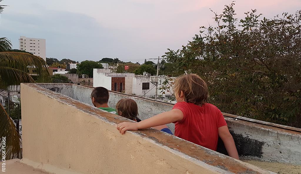 Bringing Up Kids in Mérida During a Quarantine