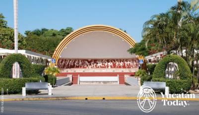 Parque de las Américas concha acústica by Juan Manuel Mier y Terán