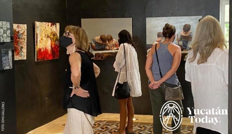 Merida Art Week by SoHo Galleries sohogalleriesmx_177029070_590262968614470_9055878133151419565_n