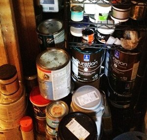 old paint can disposal