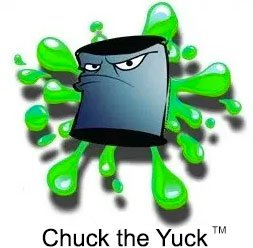 chuck the yuck old paint