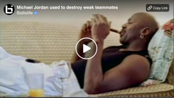 Was Michael Jordan a Horrible Teammate?