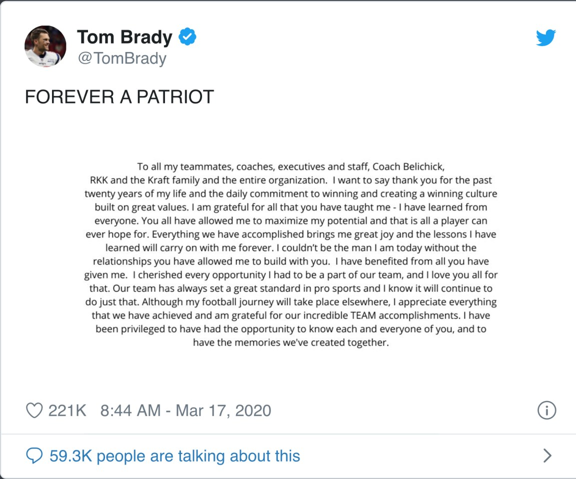 Tom Brady Done! Going Where After Leaving New England Patriots