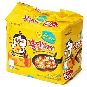Samyang - Hot Cheese and Chicken Flavored Ramen Noodles