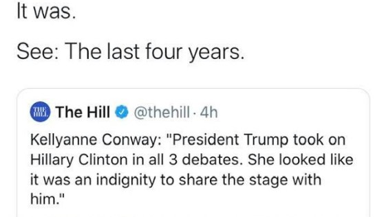 Hillary Clinton Snaps Back at Kellyanne Conway