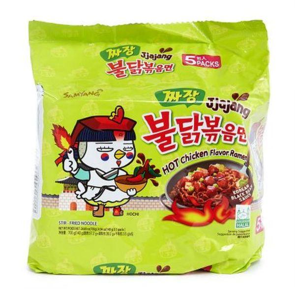 Samyang - Jjajang Hot Chicken Flavored Ramen Noodles