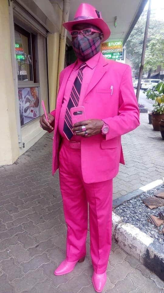 Pink Berry Skittles Suit
