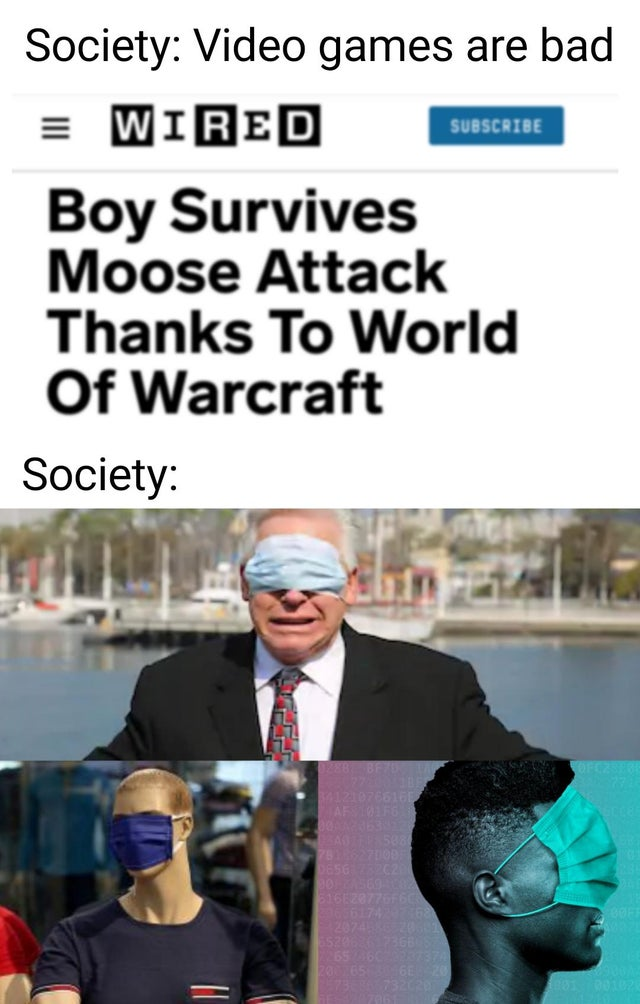 Video games promote violence!