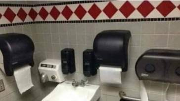 Bathroom - the room before final boss where u stock up supplies