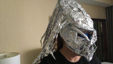 When the Predator Meets a Tin Foil Hat Conspiracy Theorist