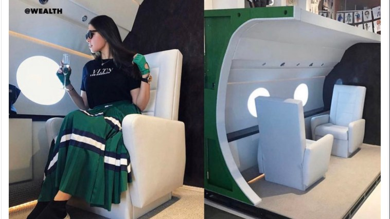 Real Live Versus Social Media Stunting on a Private Jet